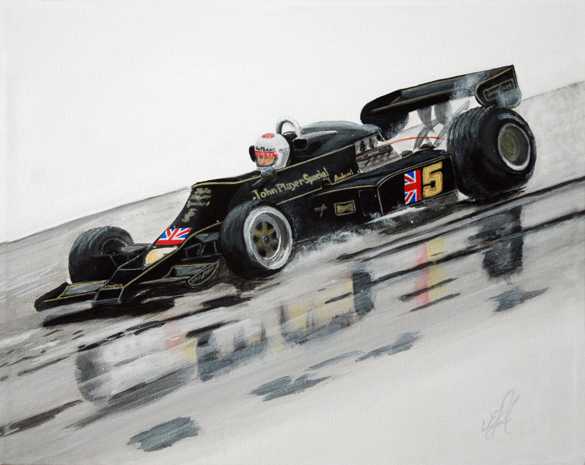 Andretti at Fuji 1976