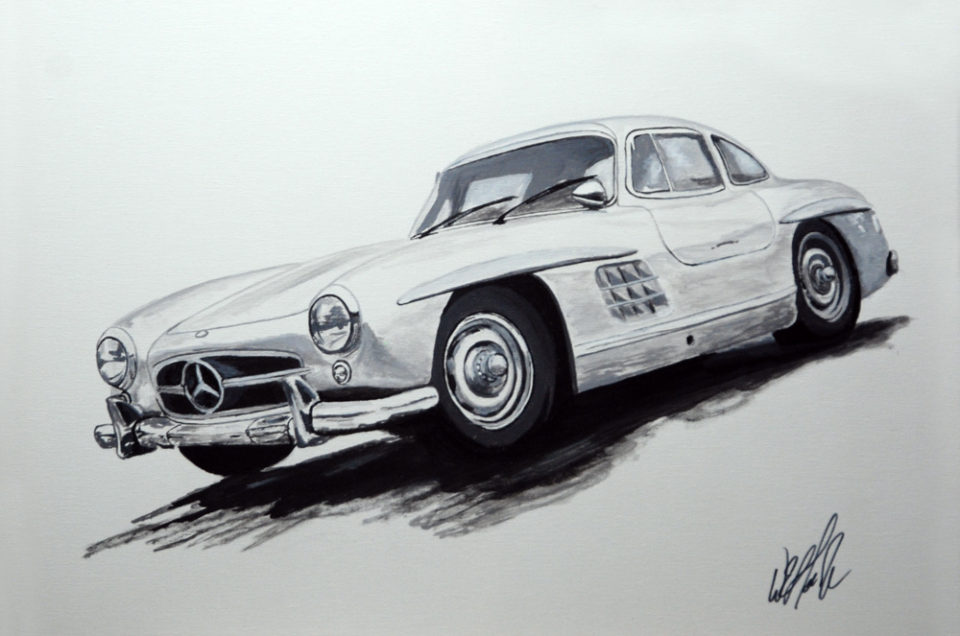 Mercedes-Benz 300SL Gull Wing